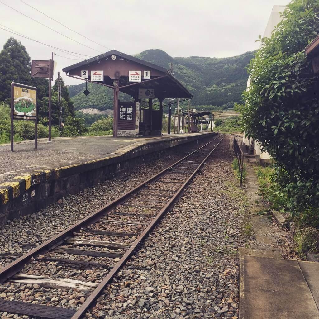 南阿蘇鉄道立野駅