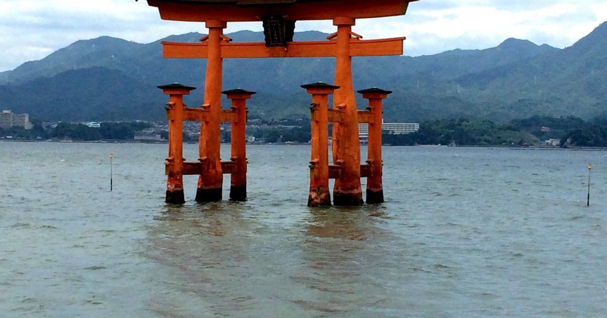 広島宮島の厳島神社