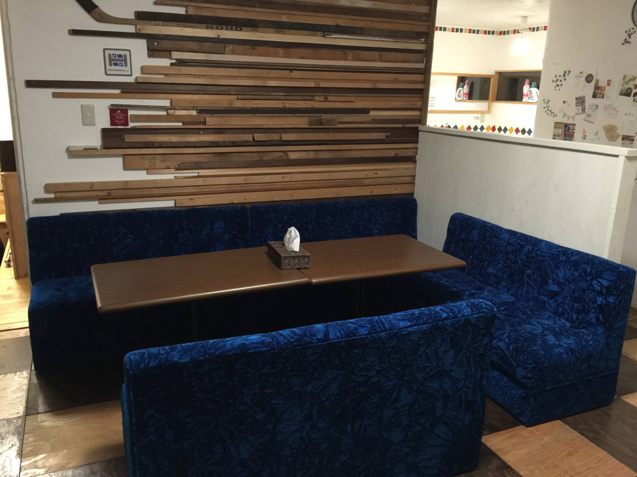 ゲストハウスwayaさんの内装・共同スペース