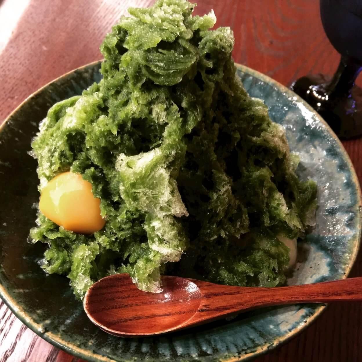 金沢、和菓子店「菓舗Kazu Nakashima(カホ カズナカシマ)でいただくかき氷
