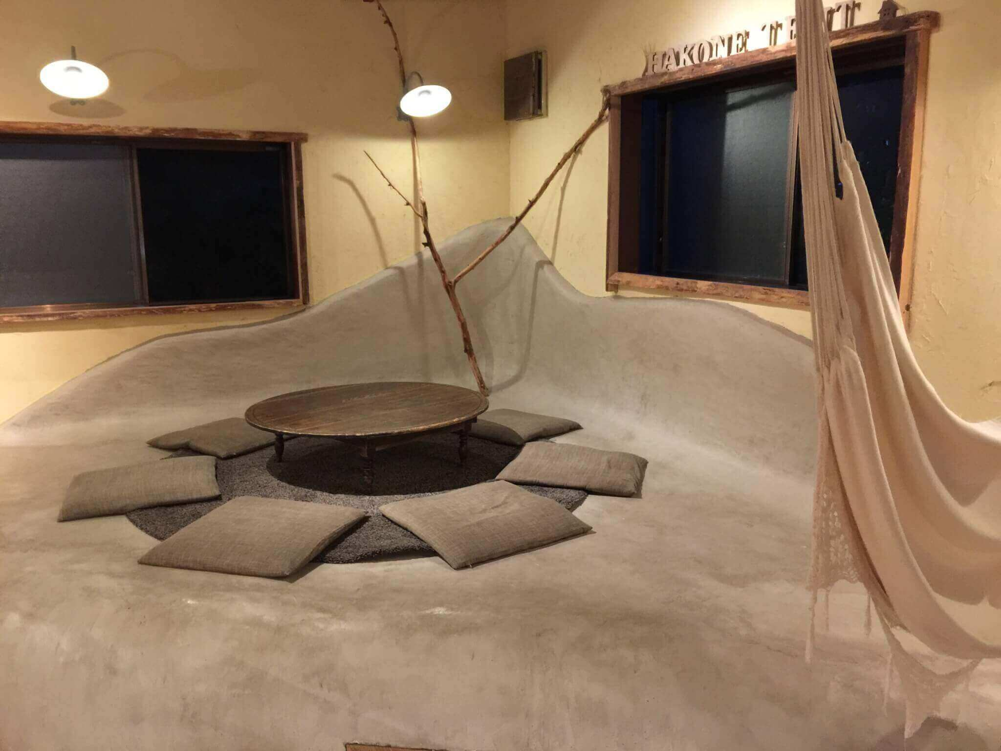 箱根テント(Hakone TENT)の内装