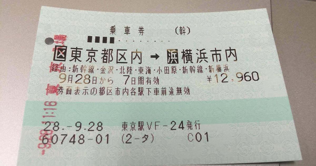東京福井間・新幹線で格安移動・途中下車可能で3,000円もお得!?&時間に関した注意点も!