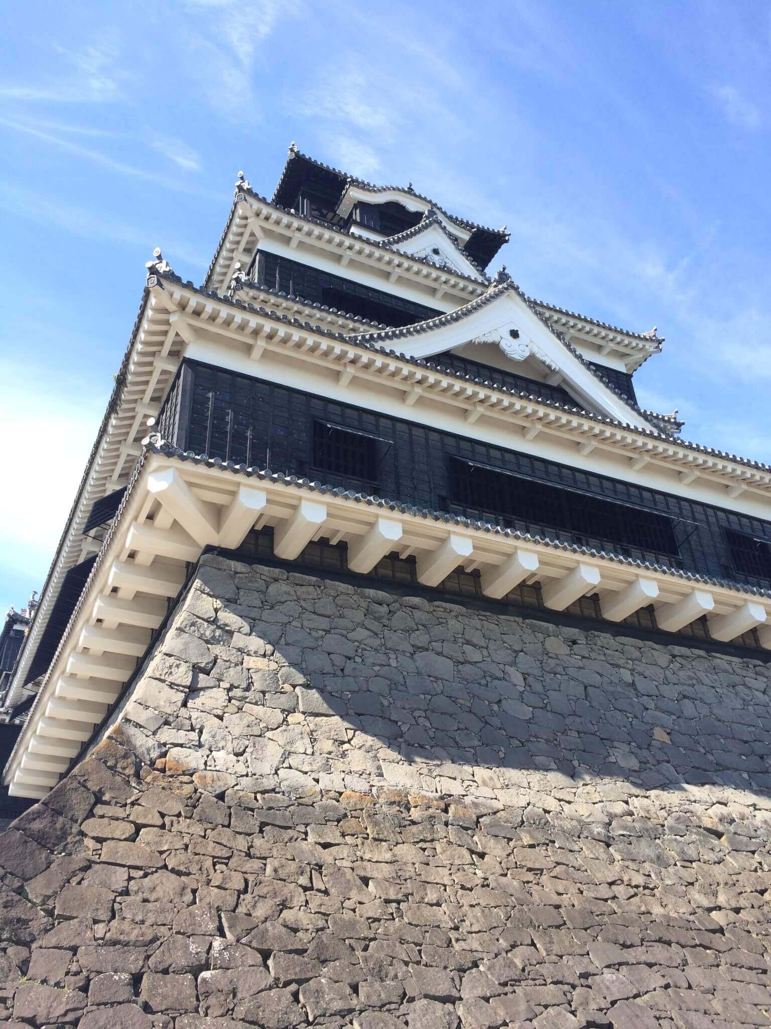 熊本城の様子