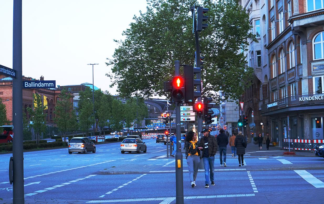 ハンブルグの街並み