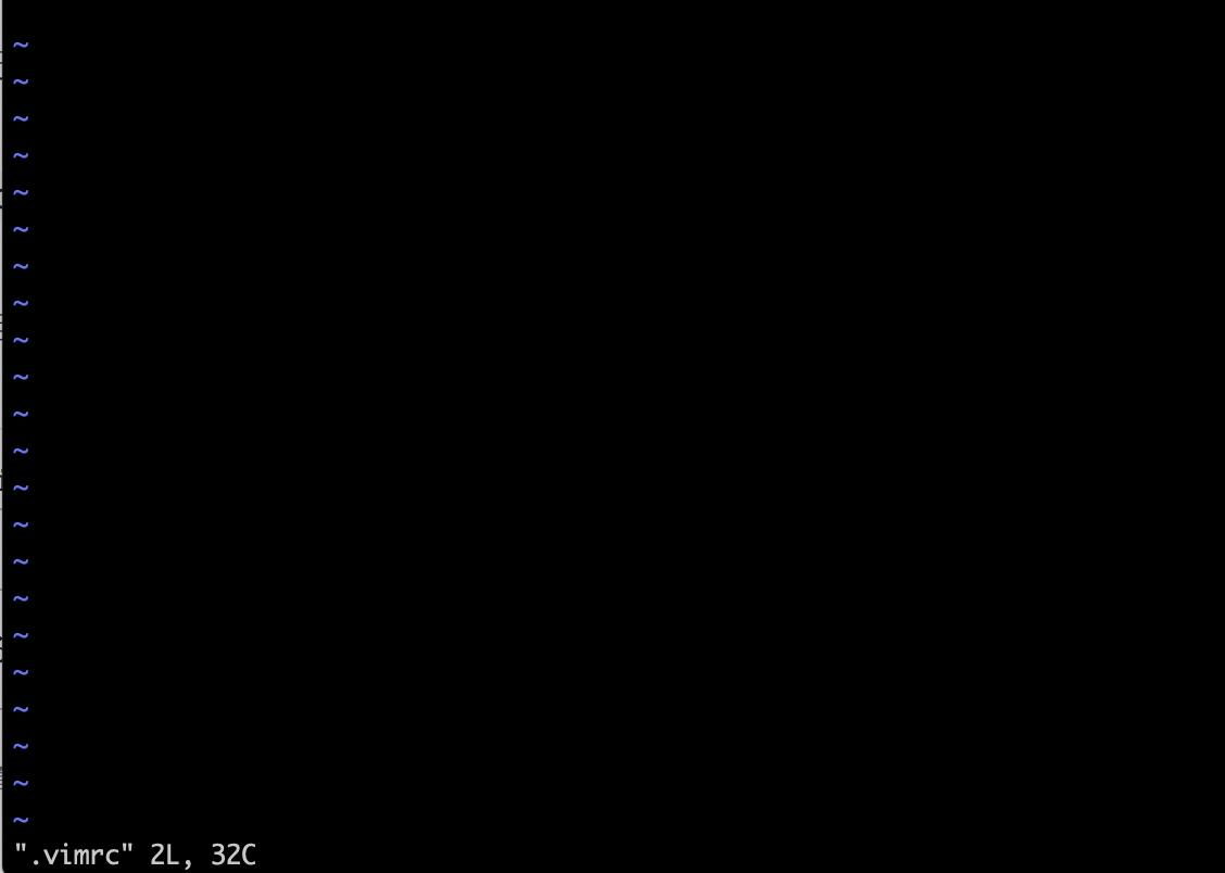 さくらインターネットのLaravelでvim起動した画面