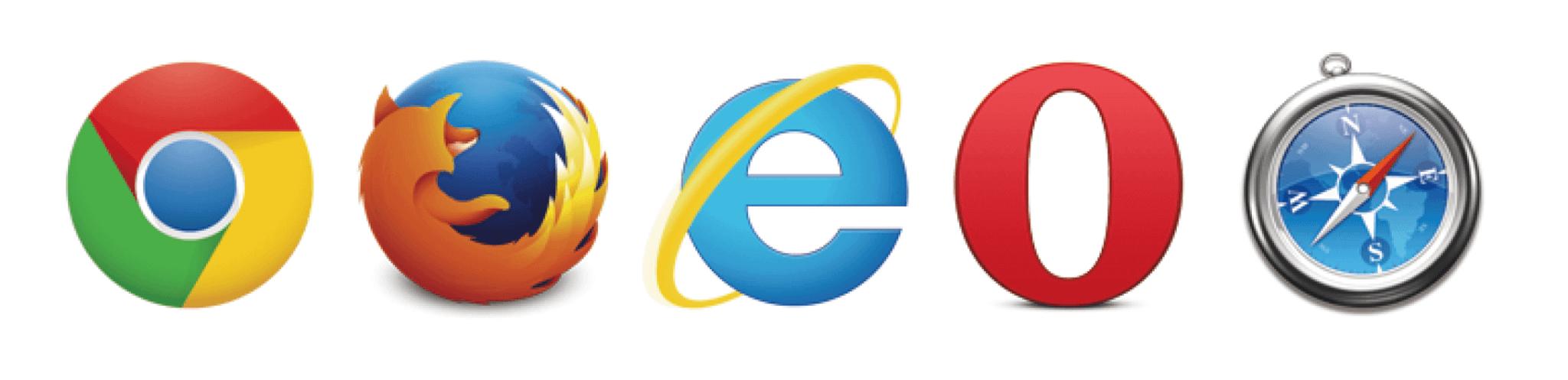 Webブラウザのアイコン