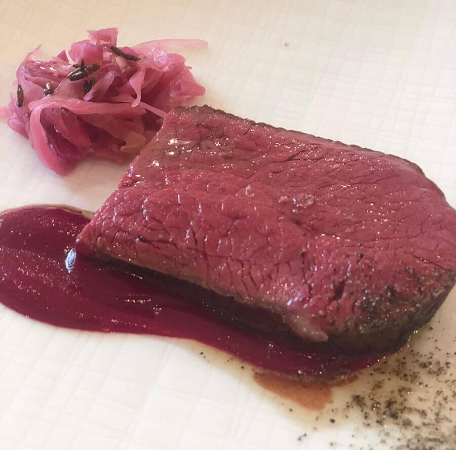 自由が丘の隠れ家レストランmondoで食べられるランチ・お肉