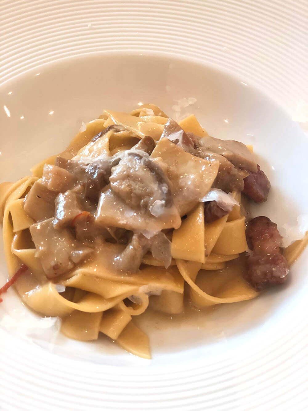 自由が丘の隠れ家レストランmondoで食べられるランチ・パスタ