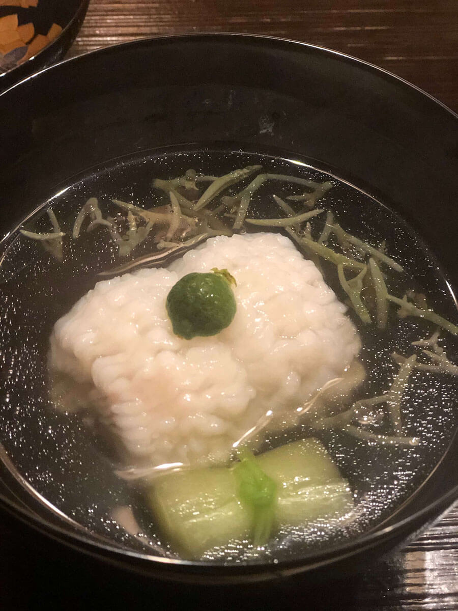 神楽坂・懐石小室の料理