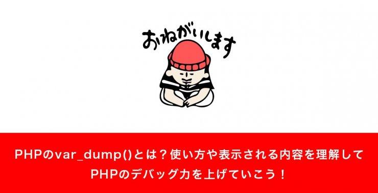 PHPのvar_dump()とは?使い方や表示される内容を理解してデバッグ力を上げていこう!
