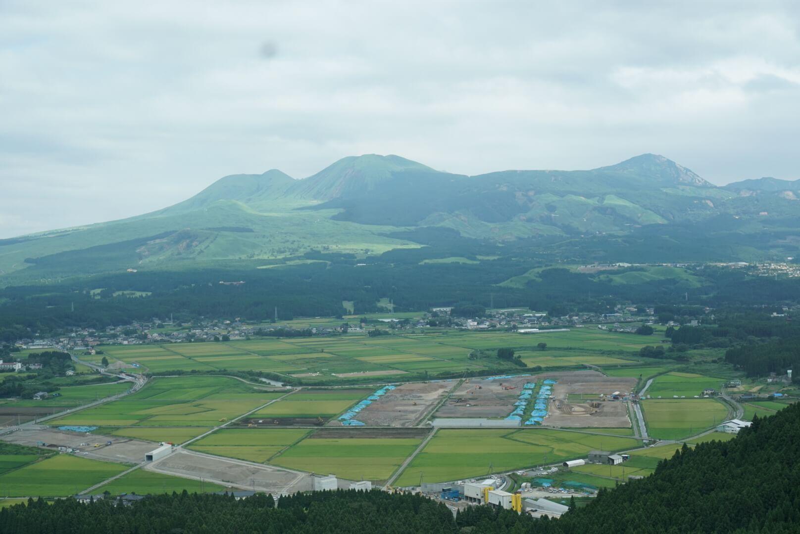 阿蘇山周辺の写真