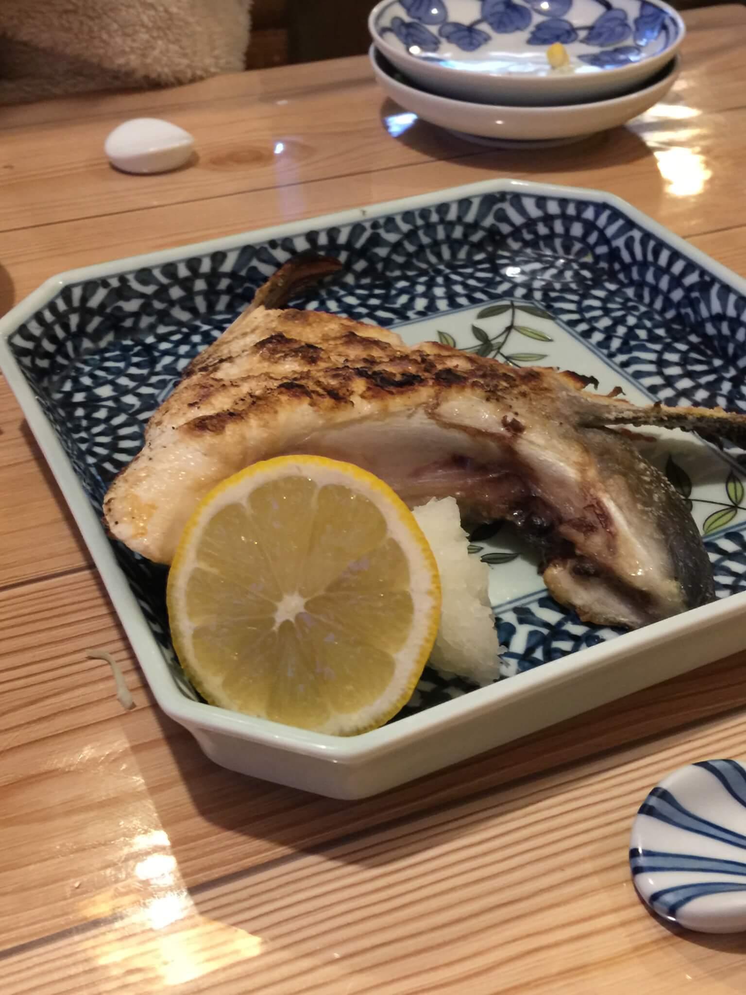 えむやで食べたお魚
