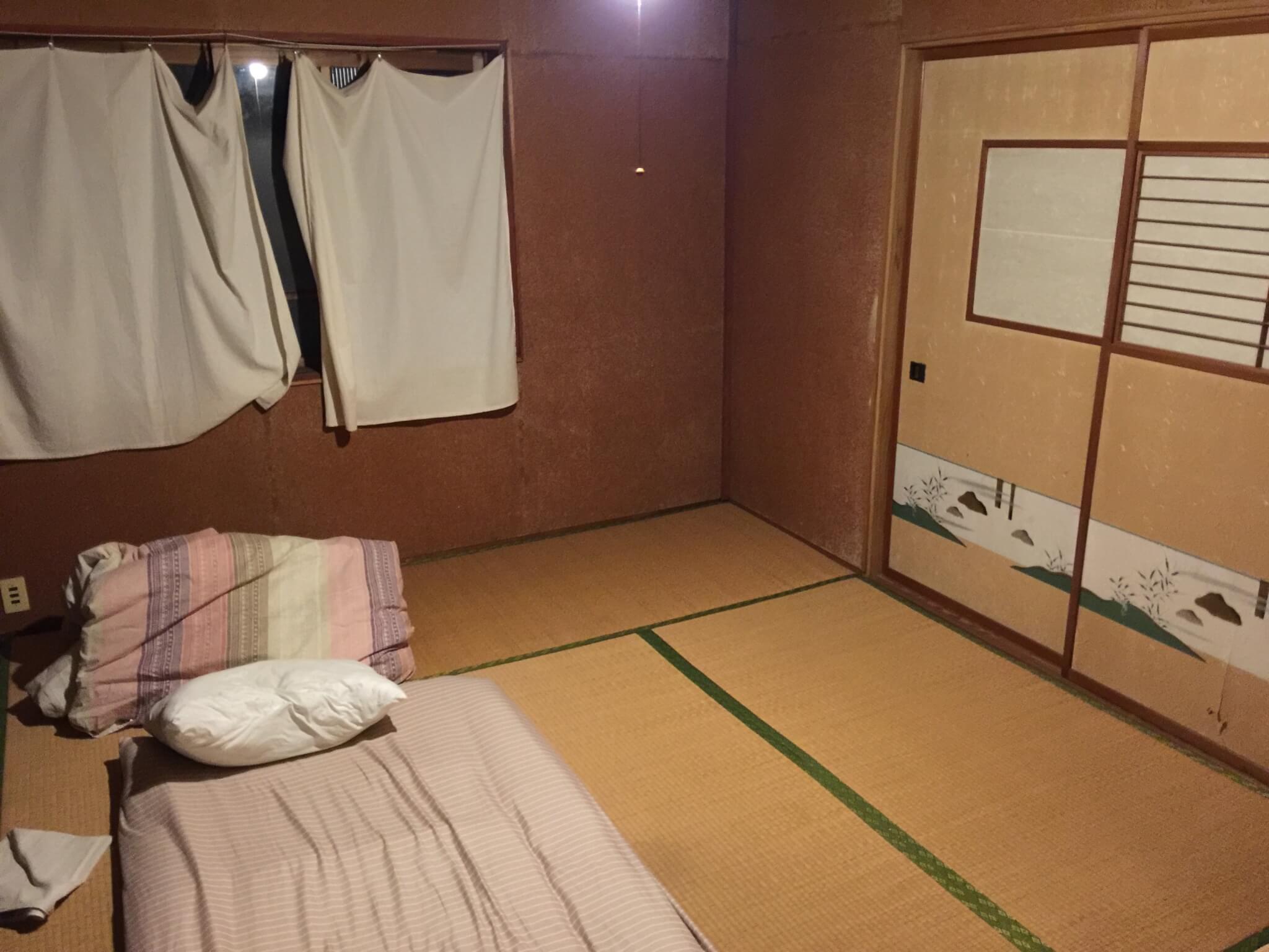 ゲストハウス・ナマケモノ(namecameono)の寝床