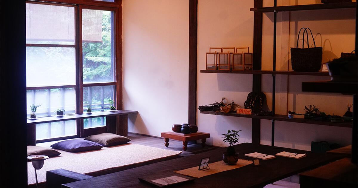 熊本県水俣市ゲストハウスtojiyaの共有スペース