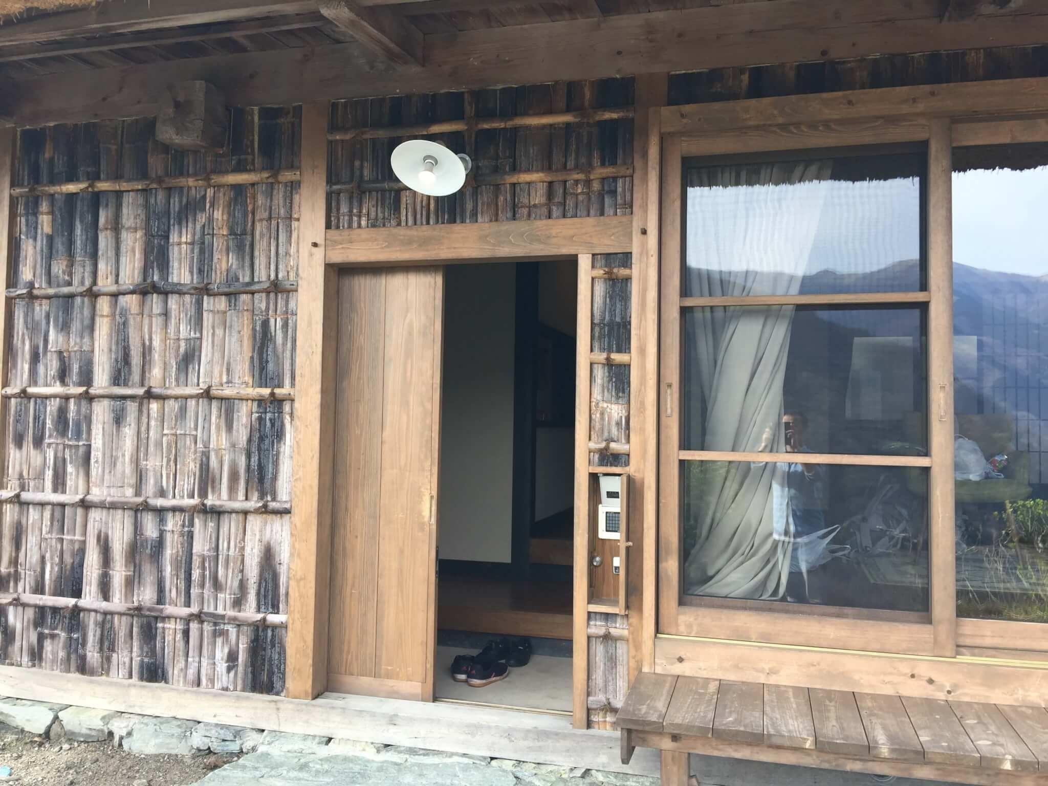 徳島・桃源郷祖谷の山里の天一方の入り口