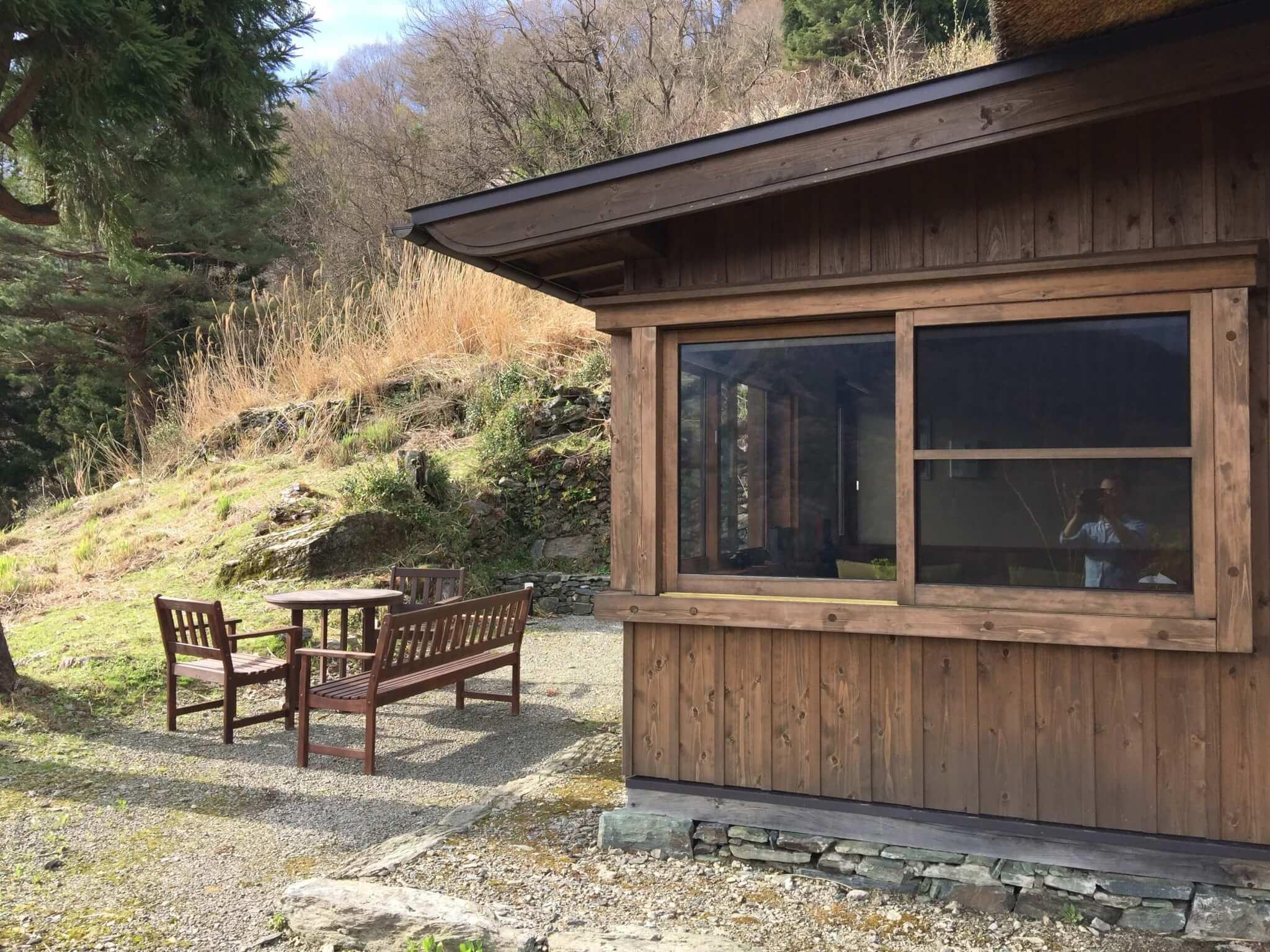 徳島・桃源郷祖谷の山里の天一方の外観