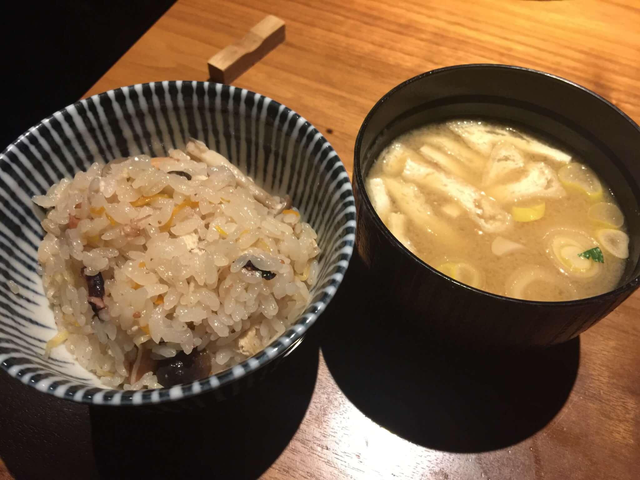 あわいで食べた味噌汁とご飯