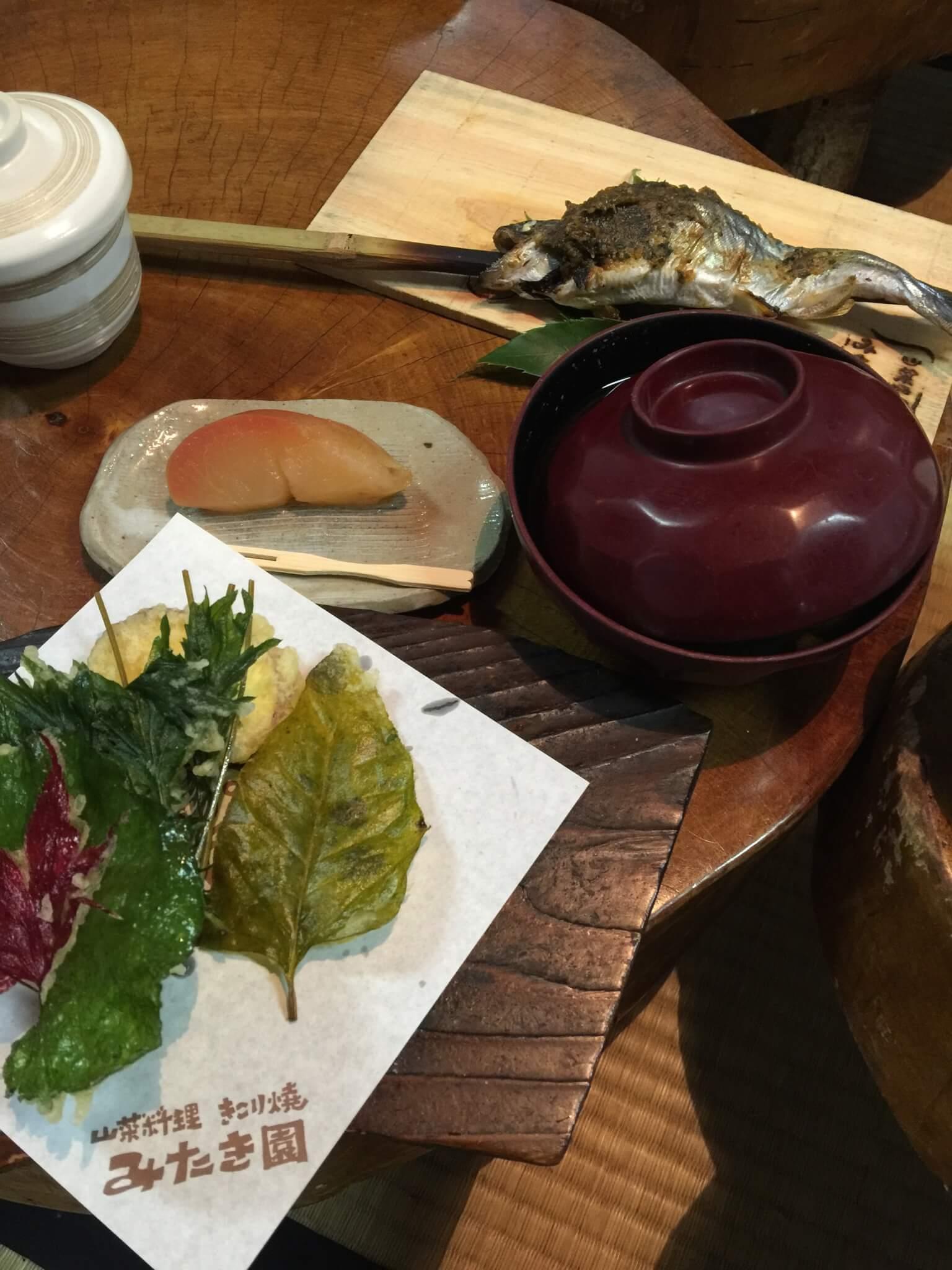 みたき園で出た料理の数々