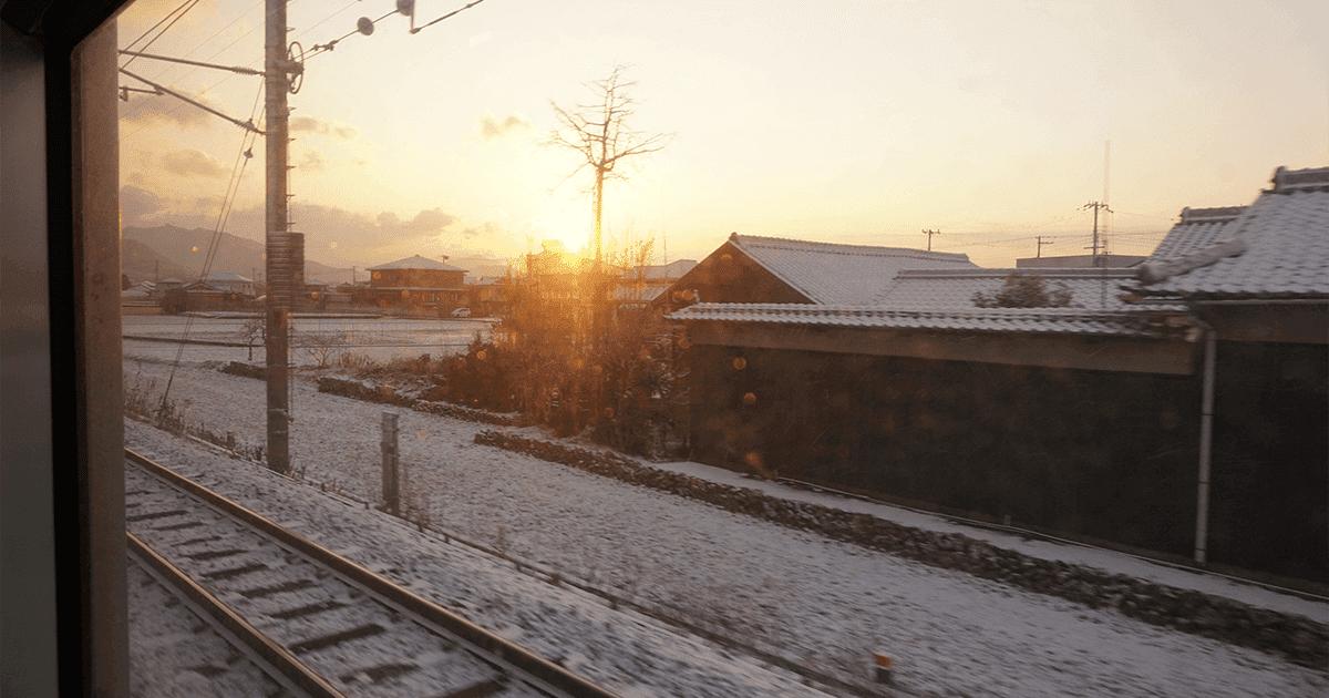 和歌山駅から紀伊田辺駅へ向かう途中