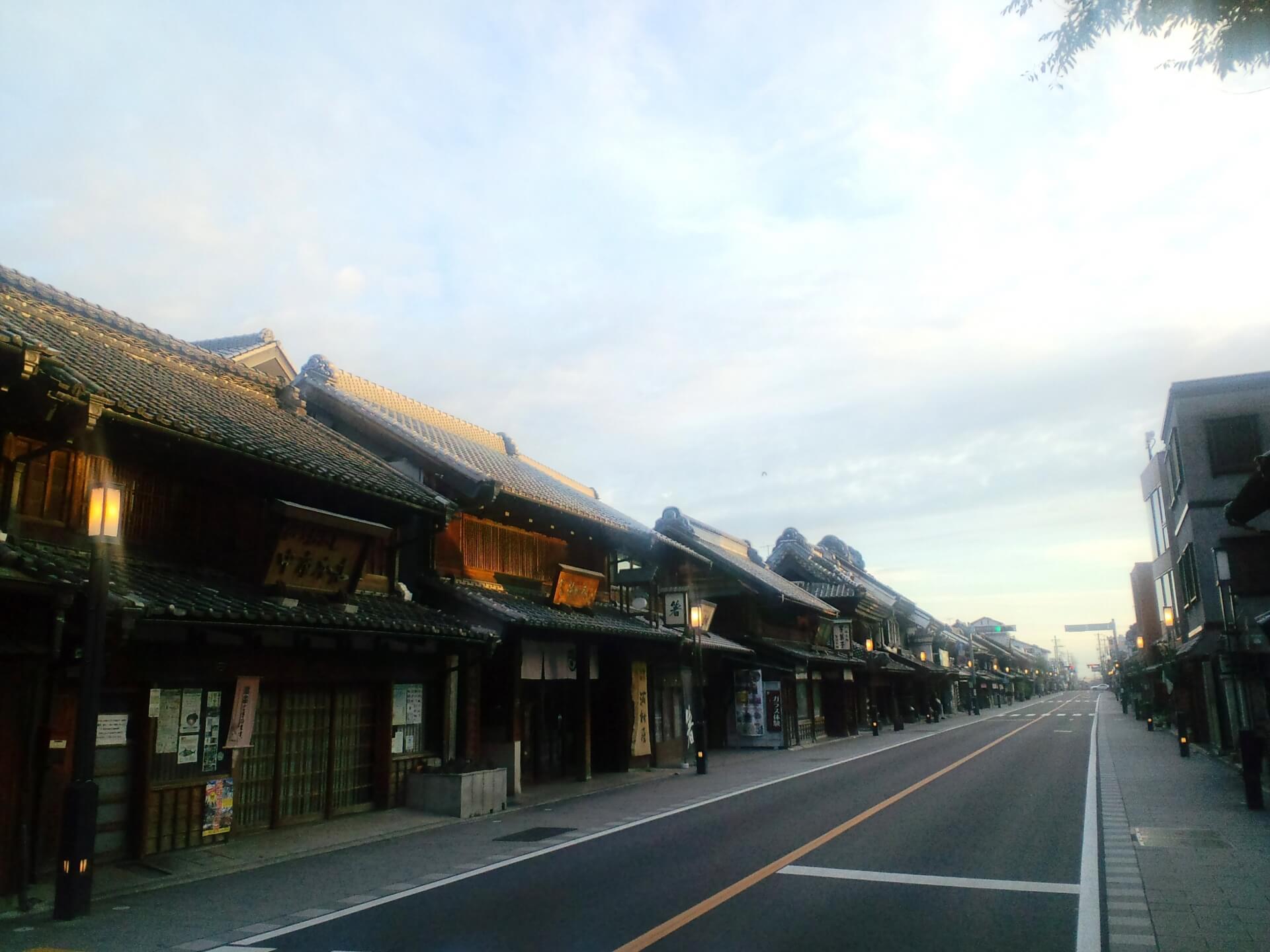 埼玉を代表する観光スポット・川越