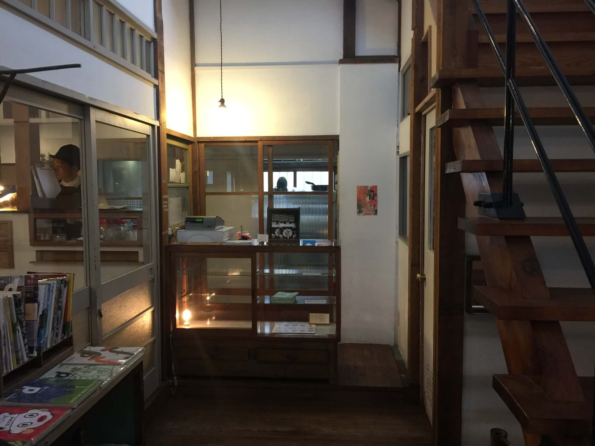 senkiya(千木屋)さんのカフェの内装