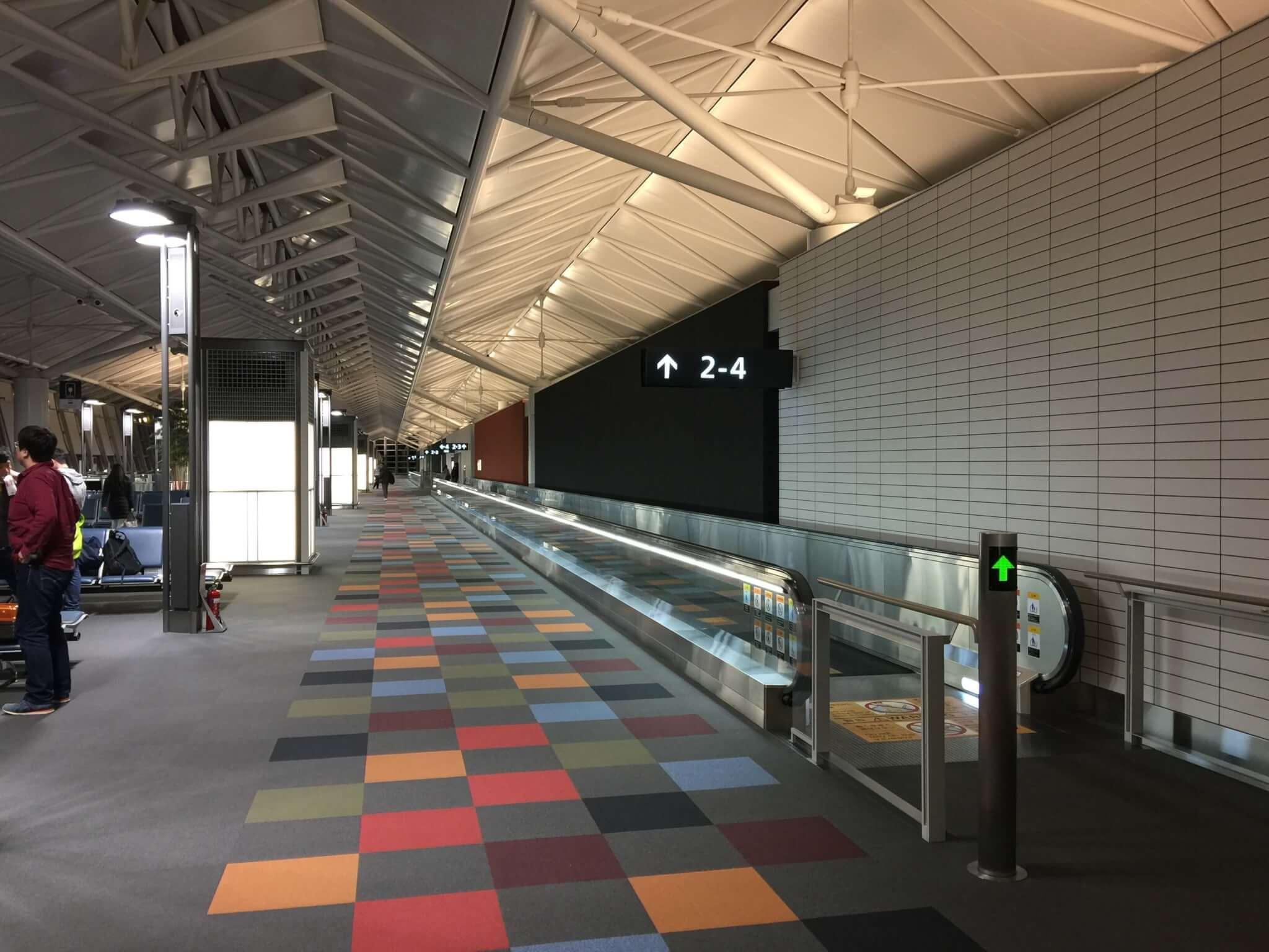 中部国際空港のラウンジ