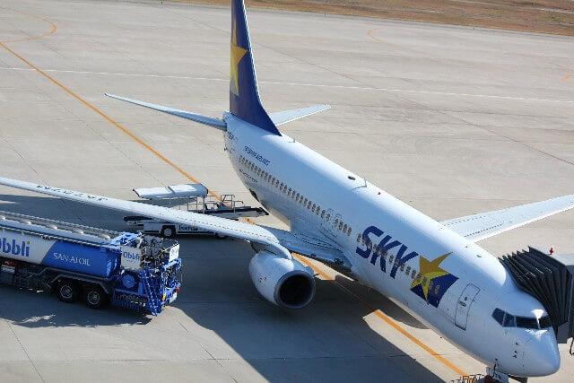 スカイマークエアラインの機体