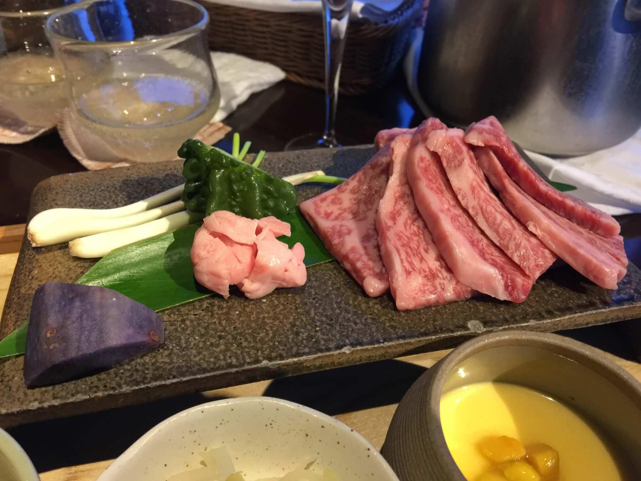 竹富島星のやで食べたインルームダイニング