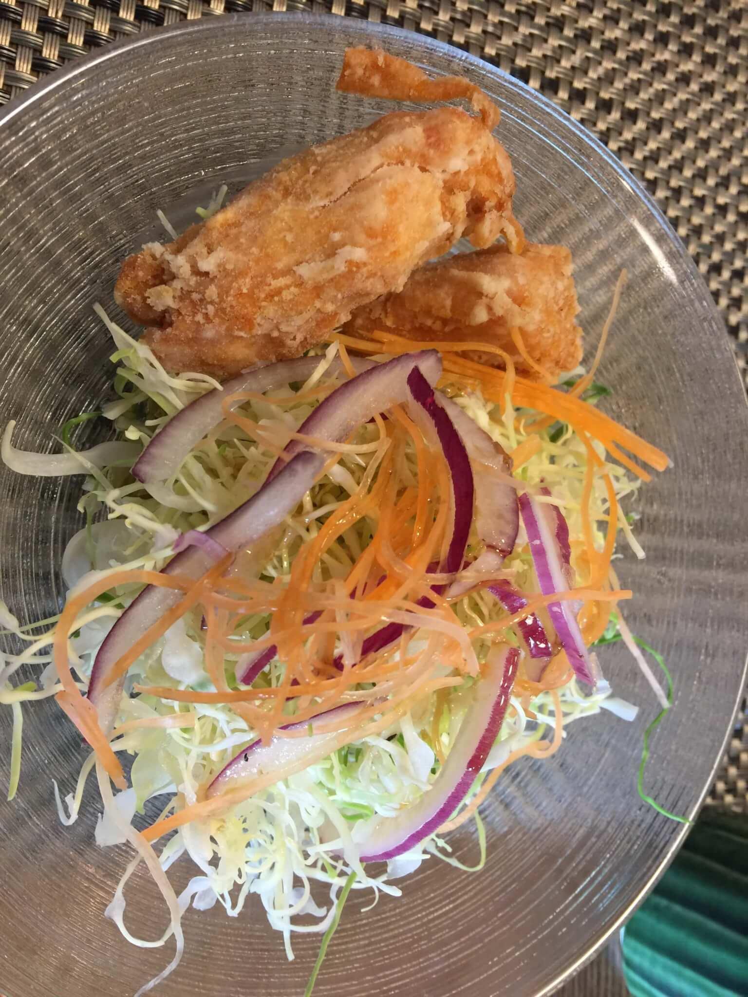 鳥取米子・さんぼうのドライカレーと副菜