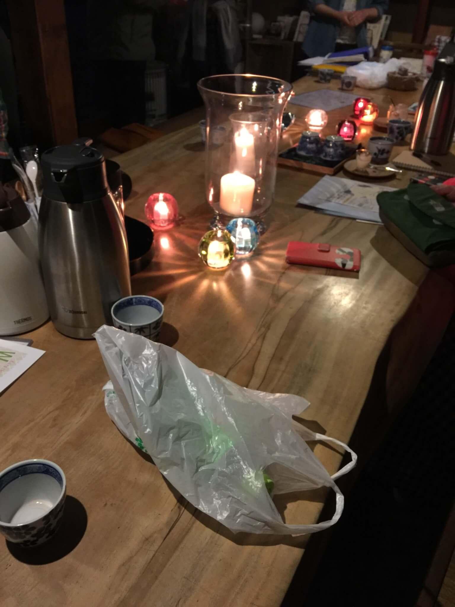 夜カフェは毎週日曜に開催